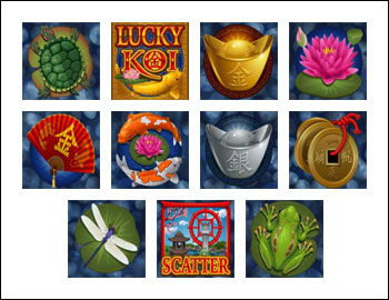 free Lucky Koi slot game symbols