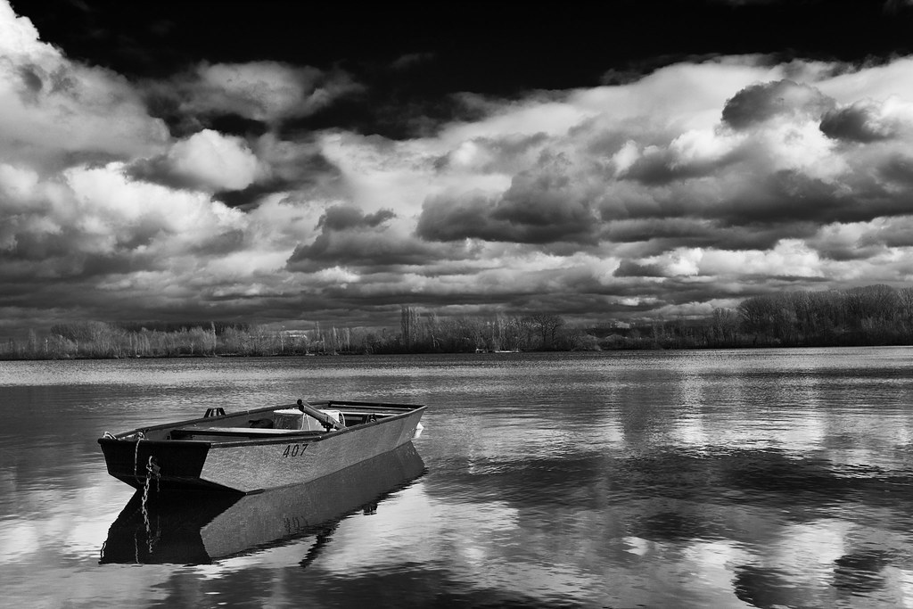 boat on the lake #4
