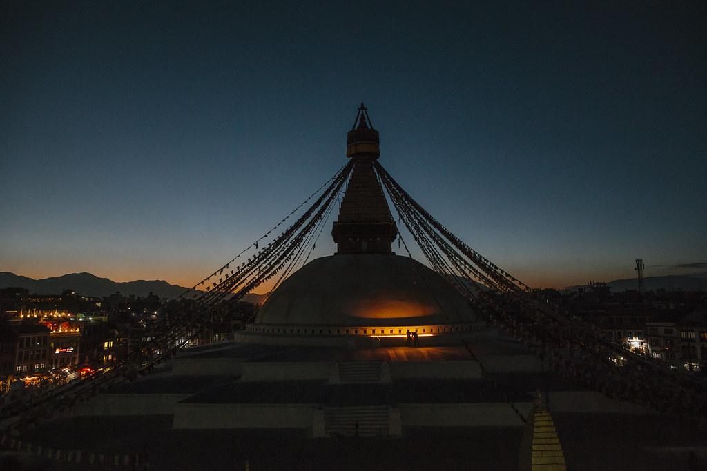 Travel Photography   Boudhanath Stupa   Nepal Himalaya