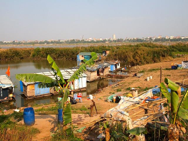 Hanoi river flats