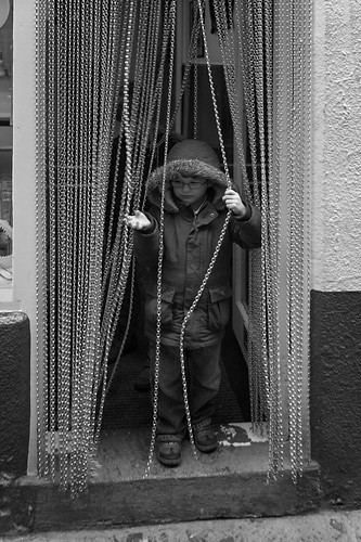 Whitby - Boy and chains