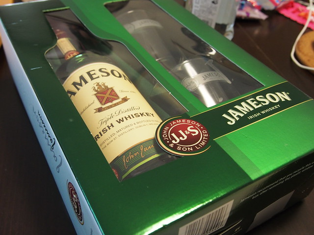 Jameson(ジェムソン) ロックグラス2個付き パッケージ