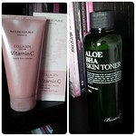 new cleanser&toner #cosmetic #koreancosmetics #naturerepublic #benton