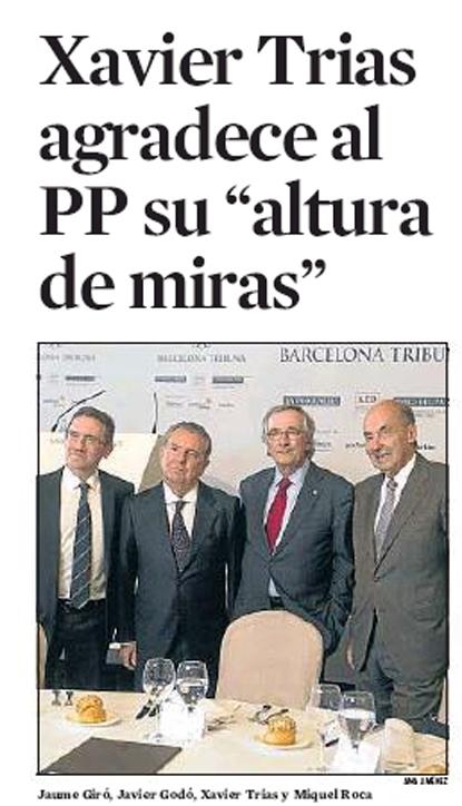 14c19 Alcalde Barcelona agradece al PP