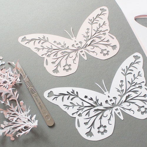 butterfly-paper-cutting