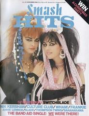 Smash Hits, December 06, 1984