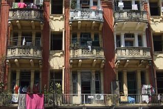 Yangon buildings