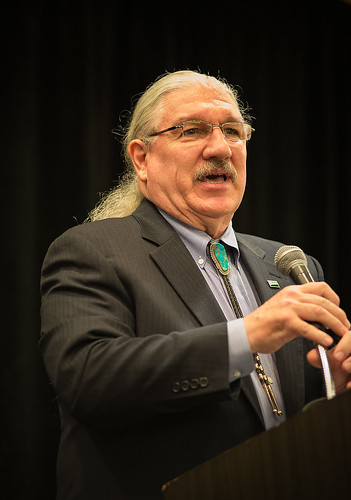 Deputy Under Secretary Butch Blazer delivers the keynote address at the 2014 Environmental Justice Conference in Washington, DC. USDA Photo by Bob Nichols