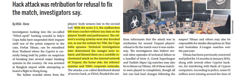 Infrastructures (sensors, images) hacking