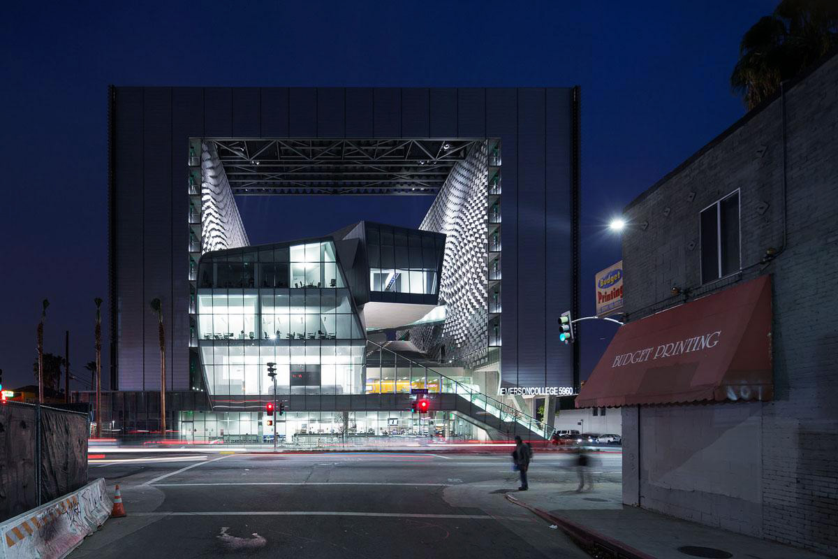 Emerson College Los Angeles design by Morphosis Architects