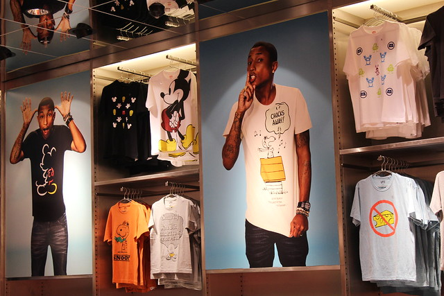 Uniqlo Pharell Williams pre opening Berlin
