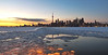 Sunset, Lake Ontario and Toronto Cityscape (Toronto, Canada. Gustavo Thomas © 2014) by Gustavo Thomas