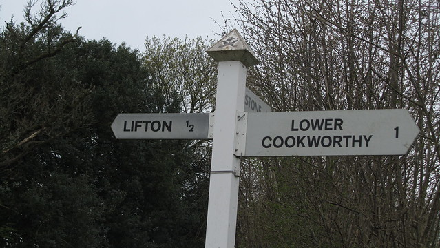 Lifton, half a mile