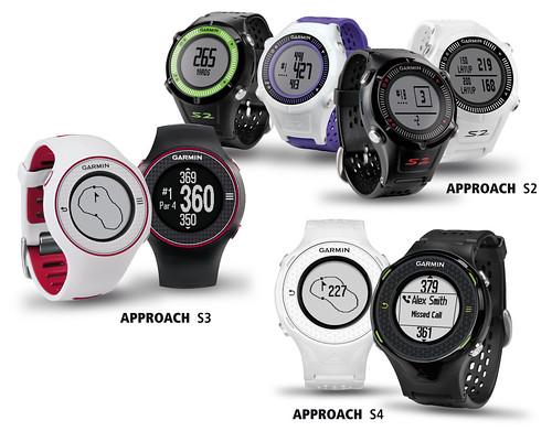 Golfové GPS hodinky Garmin
