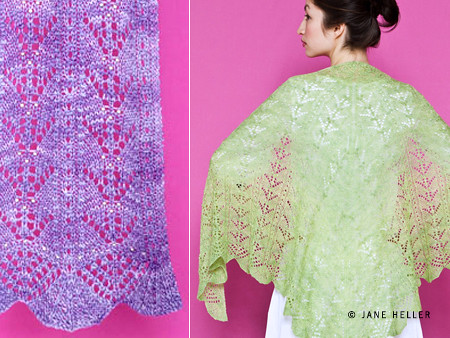 Muguet: Scarf and Shawl by Mary Joy Gumayagay