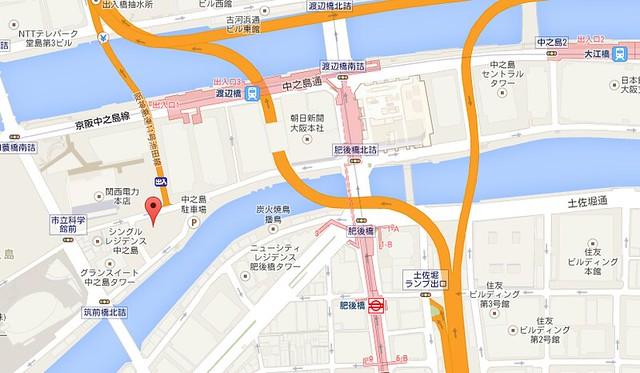 三井花園 map