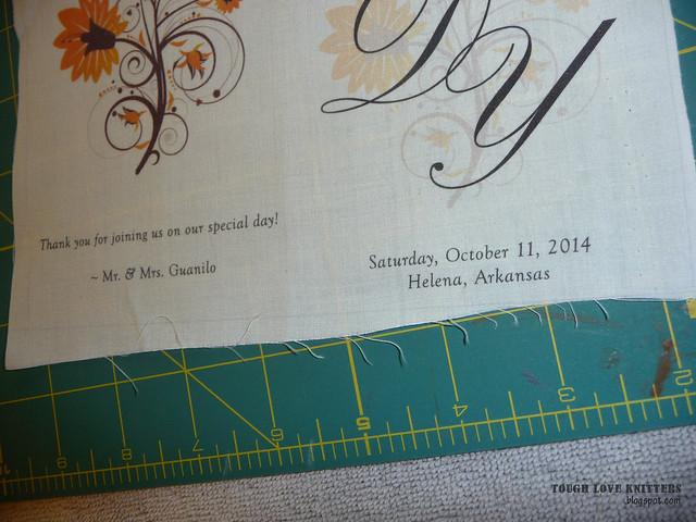 Wedding Handkerchief - Shrink