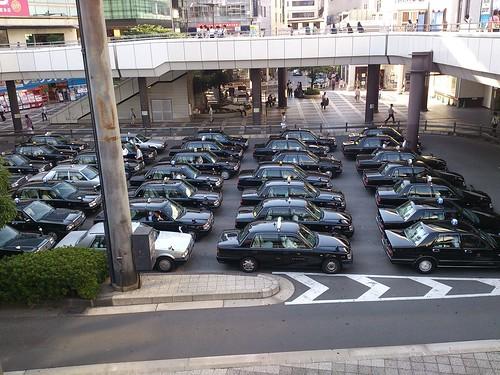 大宮のタクシープール
