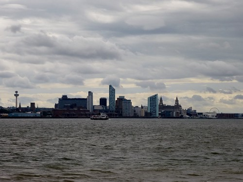 Liverpool Skyline from New Brighton