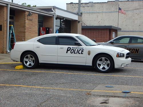 Newton Police Dept Dodge Charger