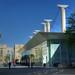 Quel est ce lieu ? Piscine olympique dans le quartier Antigone de Montpellier by bernarddelefosse