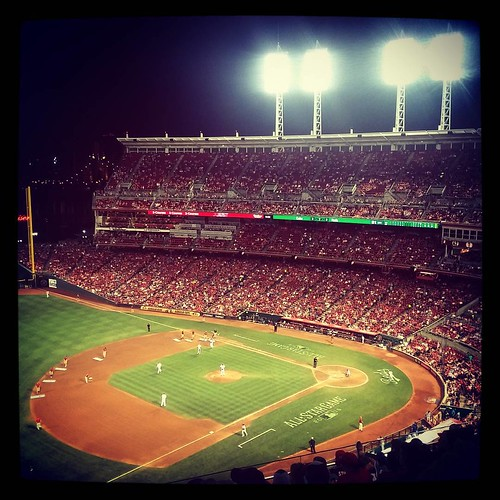 #Reds game number 28 of the season with @genmae5. #FiveGamesInARow