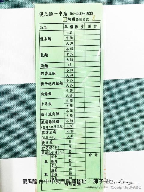 傻瓜麵 台中 中友百貨 新地址 18