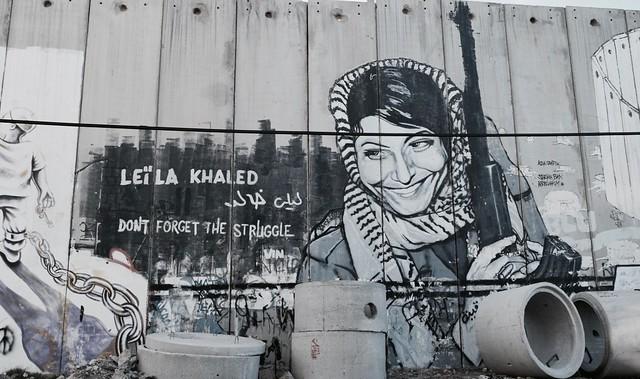 A luta e a arte de mulheres palestinas