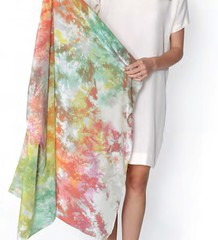 Free Project: Crystalline Scarf from Tie-Dye by Shabd Simon-Alexander