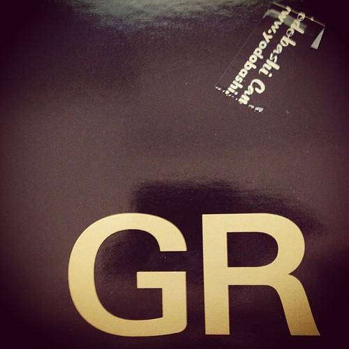 んでもって、ラッキーなことにGRの在庫があって、期待通りに散財…
