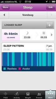 #fitbit sleep tracker