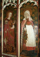 St Apollonia and St Sitha (15th Century)