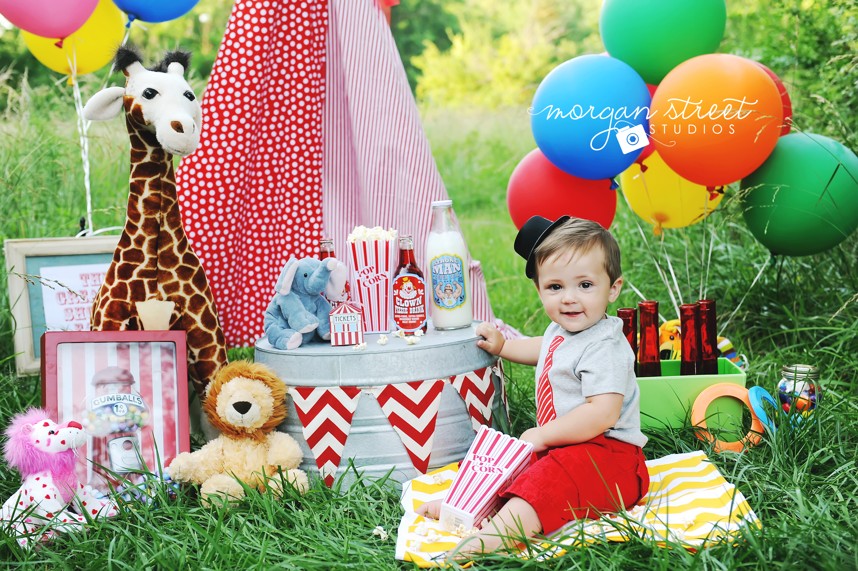 Birthday Boy Tulsa, Oklahoma Circus Themed Baby and  ~ 060608_Birthday Party Ideas Tulsa