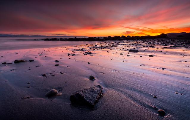 Wreck Beach Sunset - Explored!