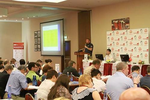 Дмитрий Потапенко на конференции Партизанский Маркетинг
