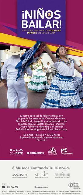 II Festival Nacional de Folklore Infantil en Nuevo León