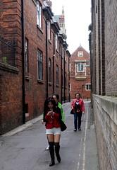Cambridge University Open Day 2013 - Candids