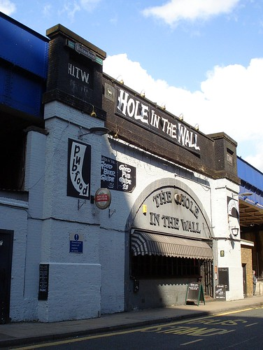 Hole In The Wall, Waterloo, London SE1