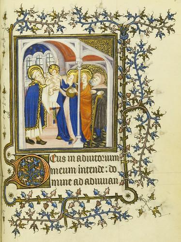 013-Horae Beatae Virginis Mariae…84r- Biblioteca Nacional de Varsovia