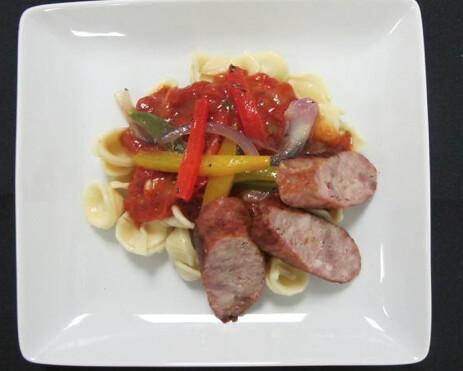 Orecchiette with Italian Sausage