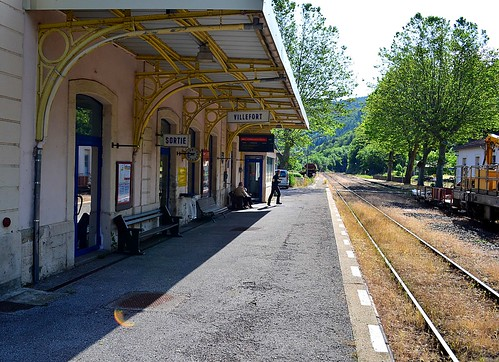 Villefort train station