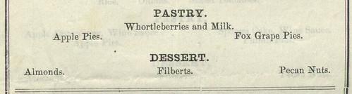 Norvell House menu
