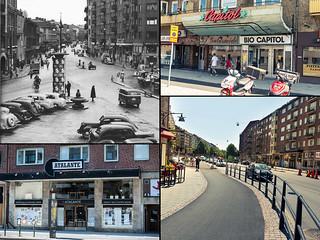 Gothenburg, Skanstorget 1952 / 2013