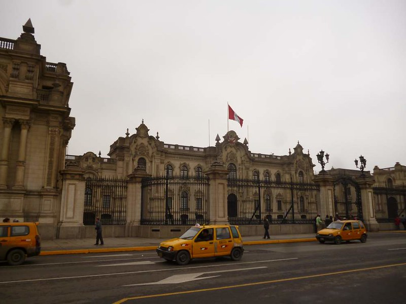 Important building in Lima