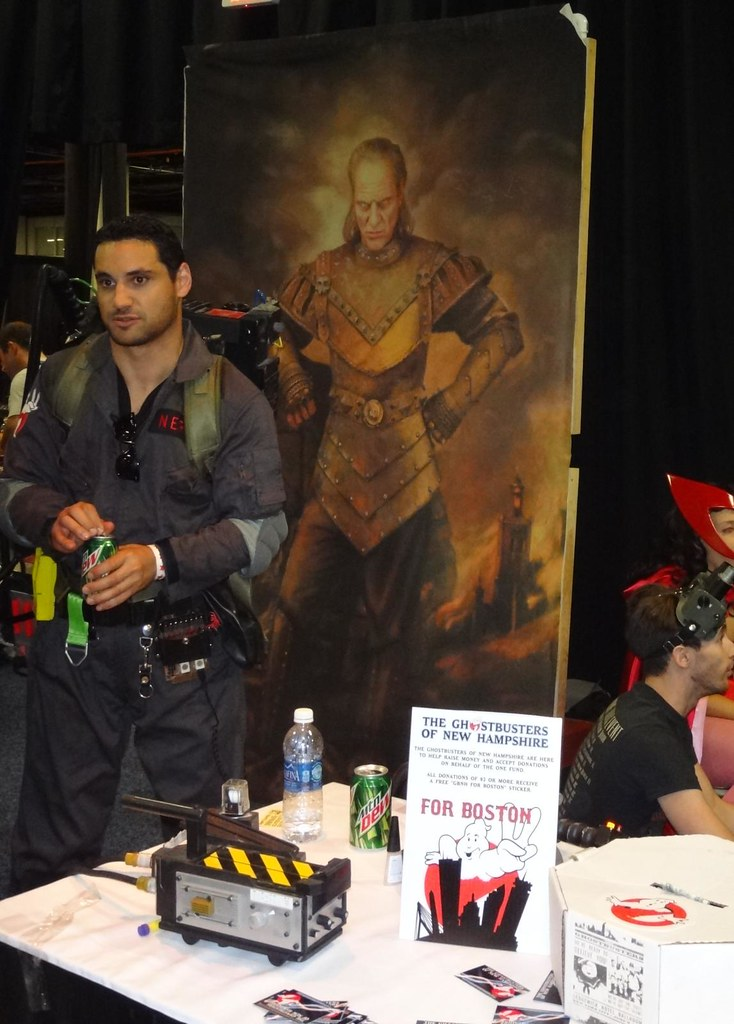Boston Comic Con 2013 NH Ghostbusters Vigo