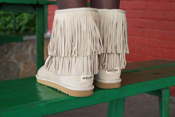 buty z frędzlami emu ugg aukoala