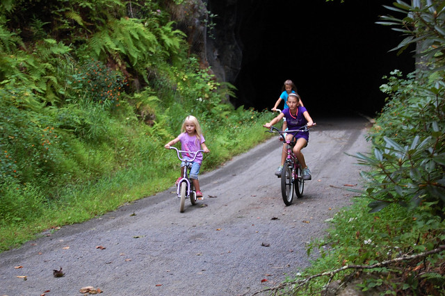 Easy riding for all ages at New River Trail State Park