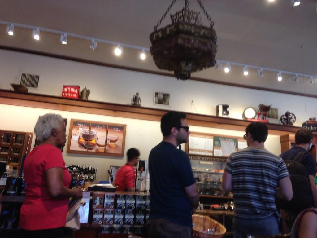 The original Peet's Coffee in Berkeley