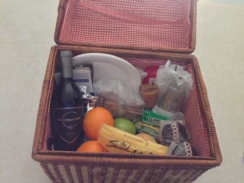 Our snack basket of the day by gmwnet
