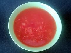 Pebersuppe med tomat og chili